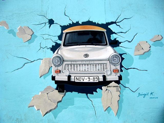 Берлинската стена графити