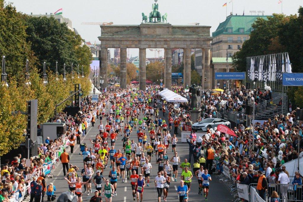 маратон в Берлин